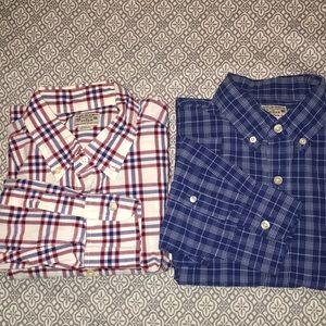 J. Crew men's shirts-medium